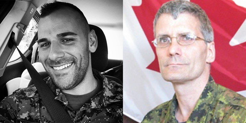 Cpl. Nathan Cirillo and Warrant Officer Patrice Vincent